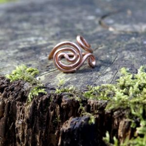 Ring Atlantic Swirl Koper