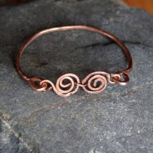 Armband Newgrange koper