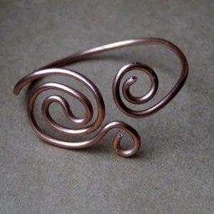 Armband Atlantic Swirl Koper