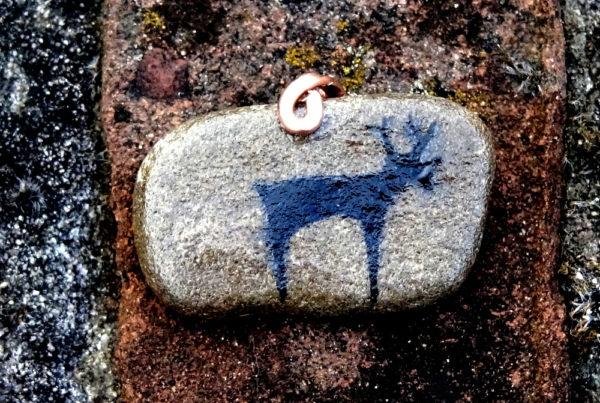 Mannelijk hert, totemdier van de 21ste Gene Key