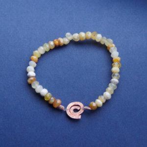 Armband gele opaal Gene Key 10