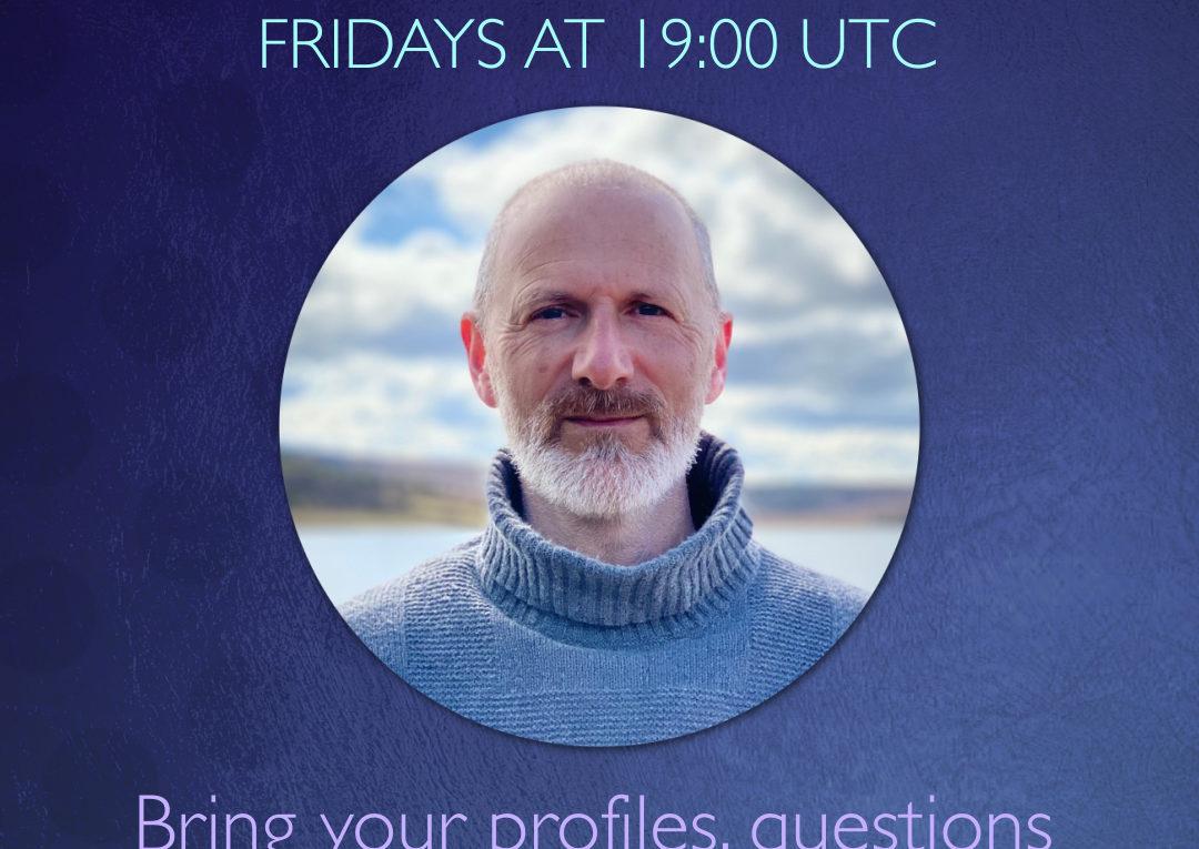 Gratis Q&A op Youtube Live met Richard Rudd